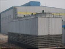 西南铝业冷却塔安装案例