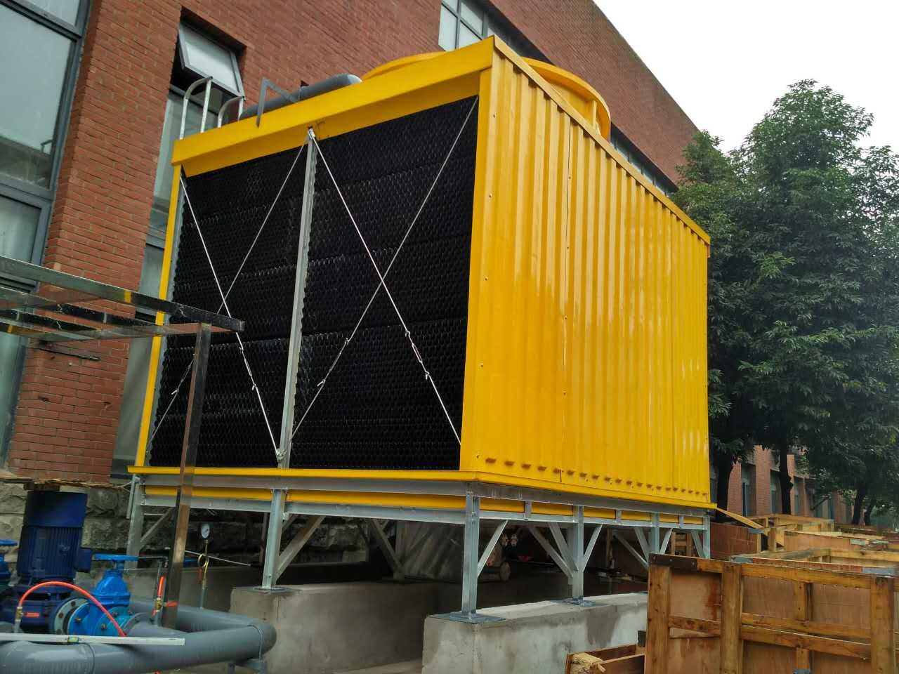 方形开式冷却塔