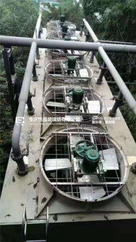 四川低噪音冷却塔安装