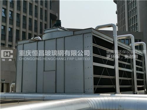 全金属结构冷却塔安装